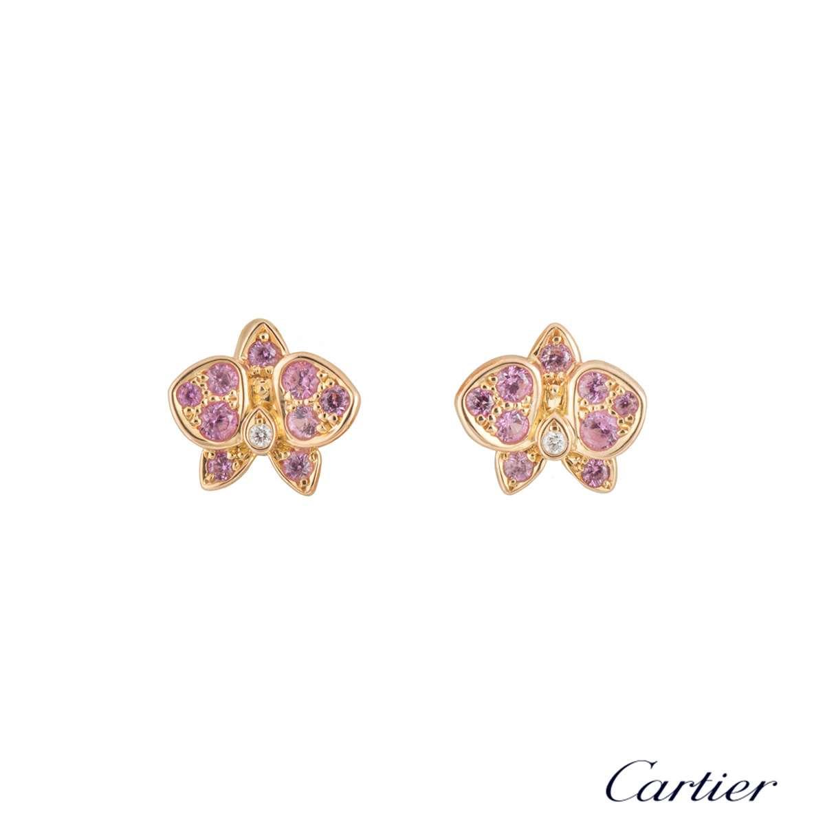 398da267ccea8 Cartier Caresse d'Orchidées par Cartier Earrings